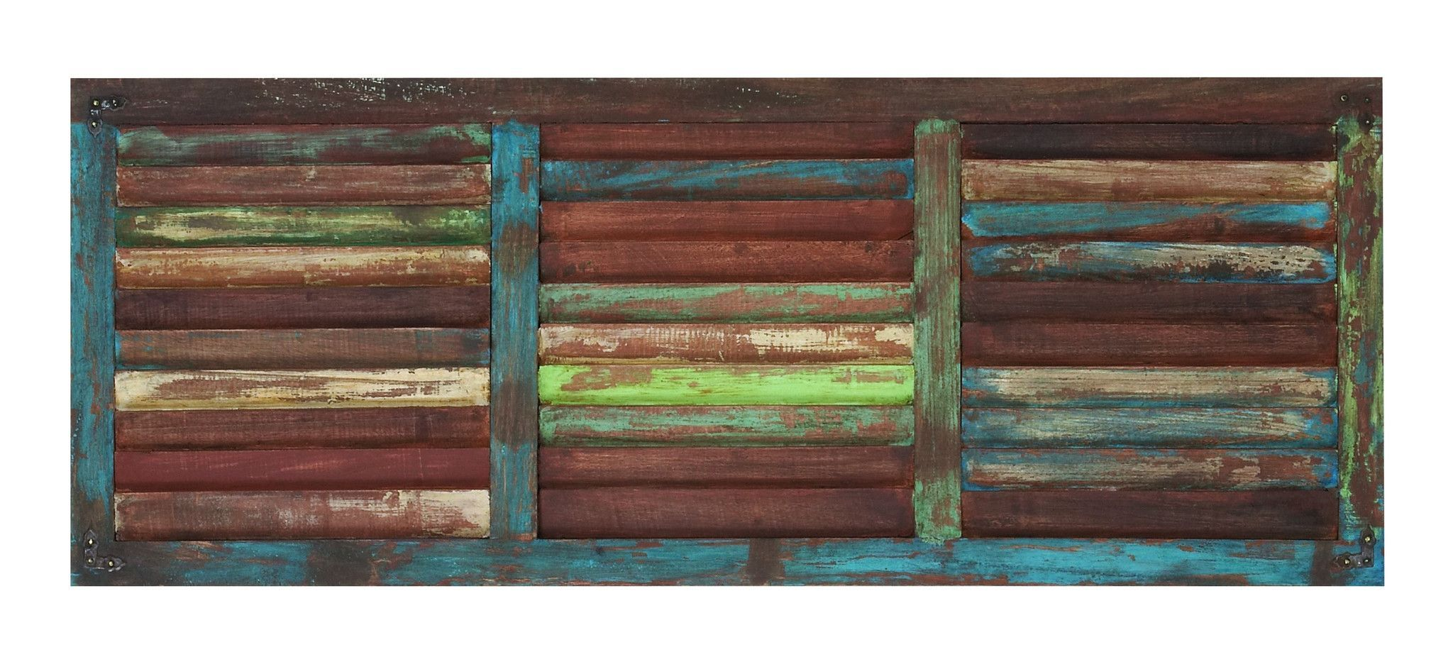 Functional and Attractive Wooden Wall Panel in Rectangular Shape