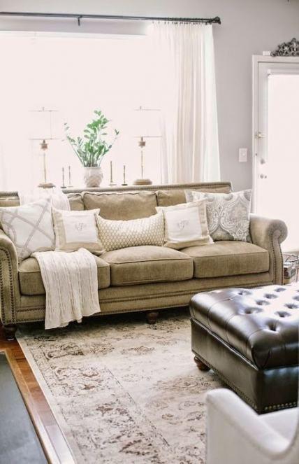 19+ ideas home style living room grey walls #livingroom # ...