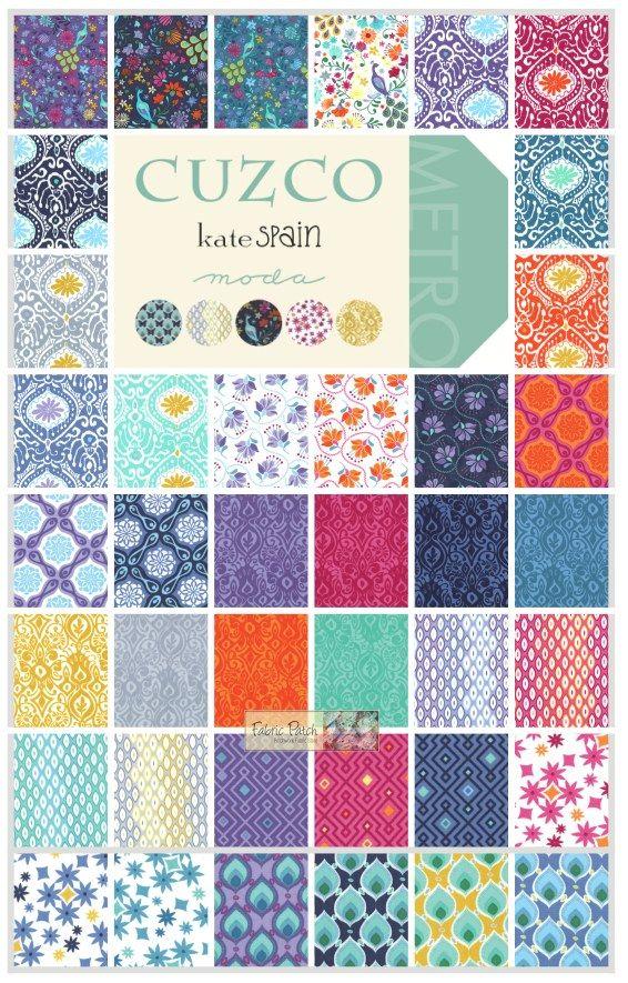 Cuzco Layer Cake - Patchwork & Quilting Fabric - $42.00 : Fabric ... : quilt supplies - Adamdwight.com