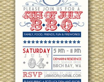 4th of july barbecue clipart