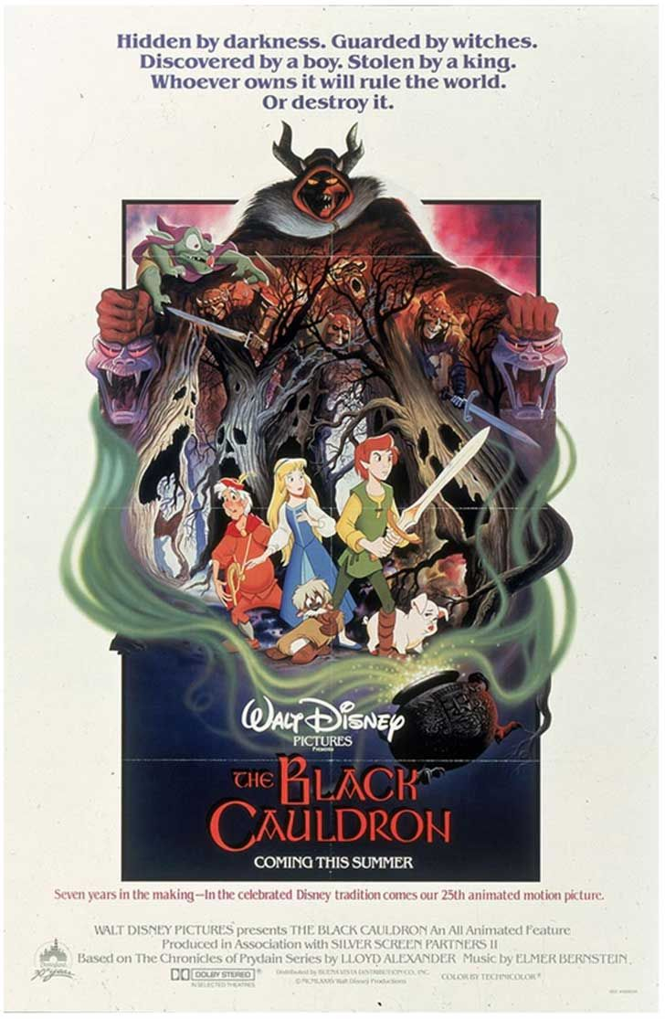 The Black Cauldron (1985) Horror, Action, Fantasy