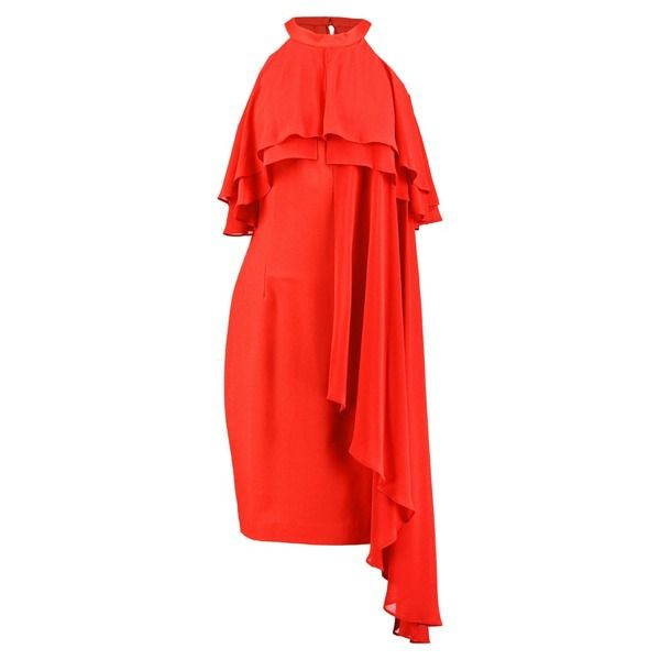 Coast INEZ RUFFLE SHIFT DRESS Cocktailkleid/festliches Kleid red ...