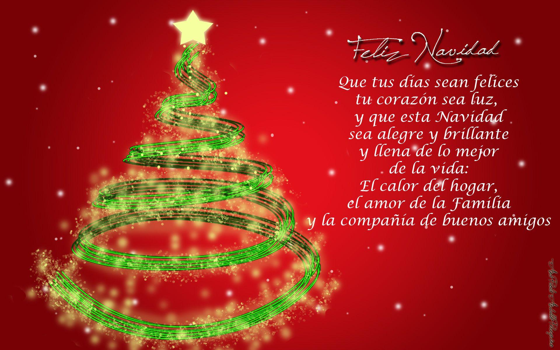 Fondos Verdes De Navidad Para Pantalla Hd 2 Hd Wallpapers: Fondos De Navidad Con Frases Para Fondo De Pantalla En Hd