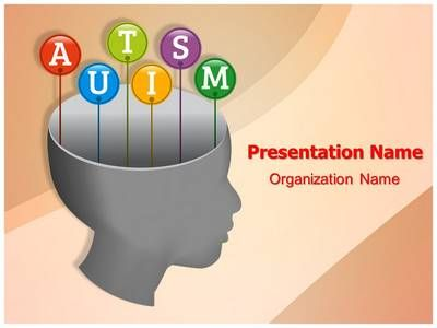 Check out our professionally designed #Autism Head #PPT #template - nursing powerpoint template