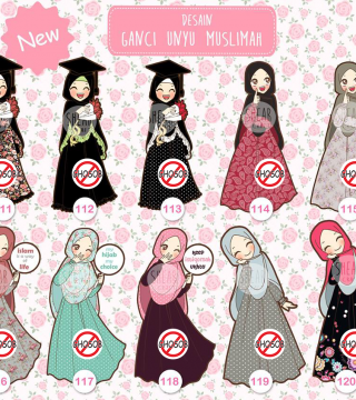 Gambar Kartun Muslimah Wisudah Katalog Ganci Unyu Muslimah Single Edisi Wisuda Muslimah Kode 111 Top Gambar Kartun 4 Orang Saha Kartun Gambar Kartun Gambar