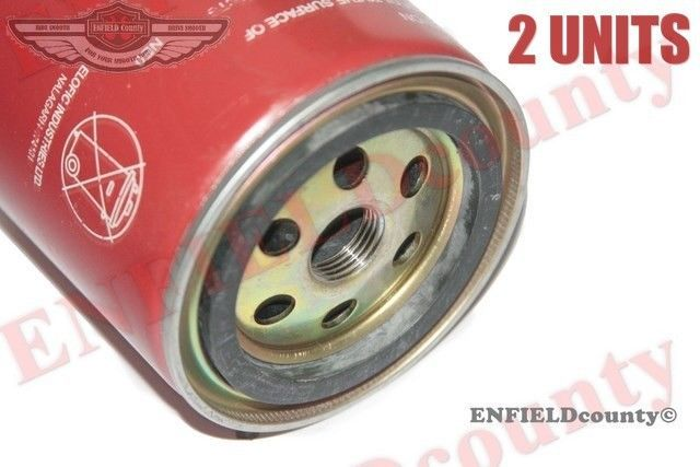 Pair 2 Units Workshop Replacement Engine Oil Filter Unit Willys Jeep Willys Jeep Willys Oil Filter