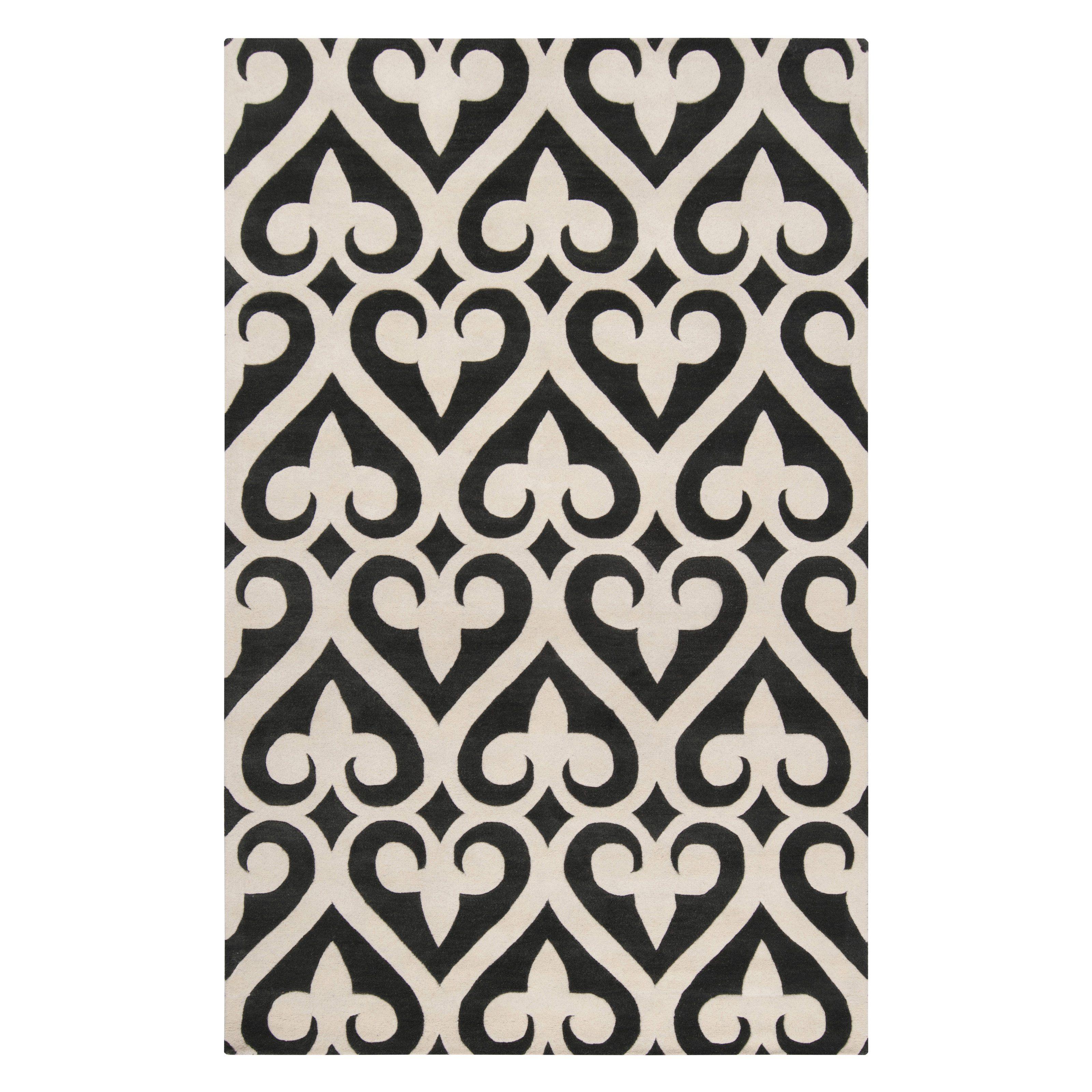 9 x 13 area rugs. Surya ZUN-1048 Jill Rosenwald Area Rug - 9 X 13 Ft. Gray Rugs
