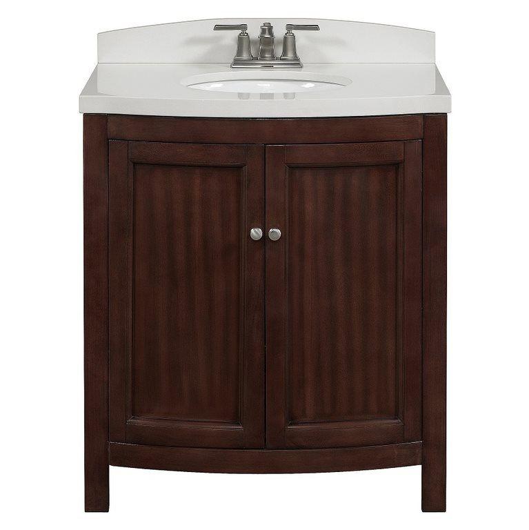 allen + roth Moravia Sable Undermount Bathroom Vanity with ...