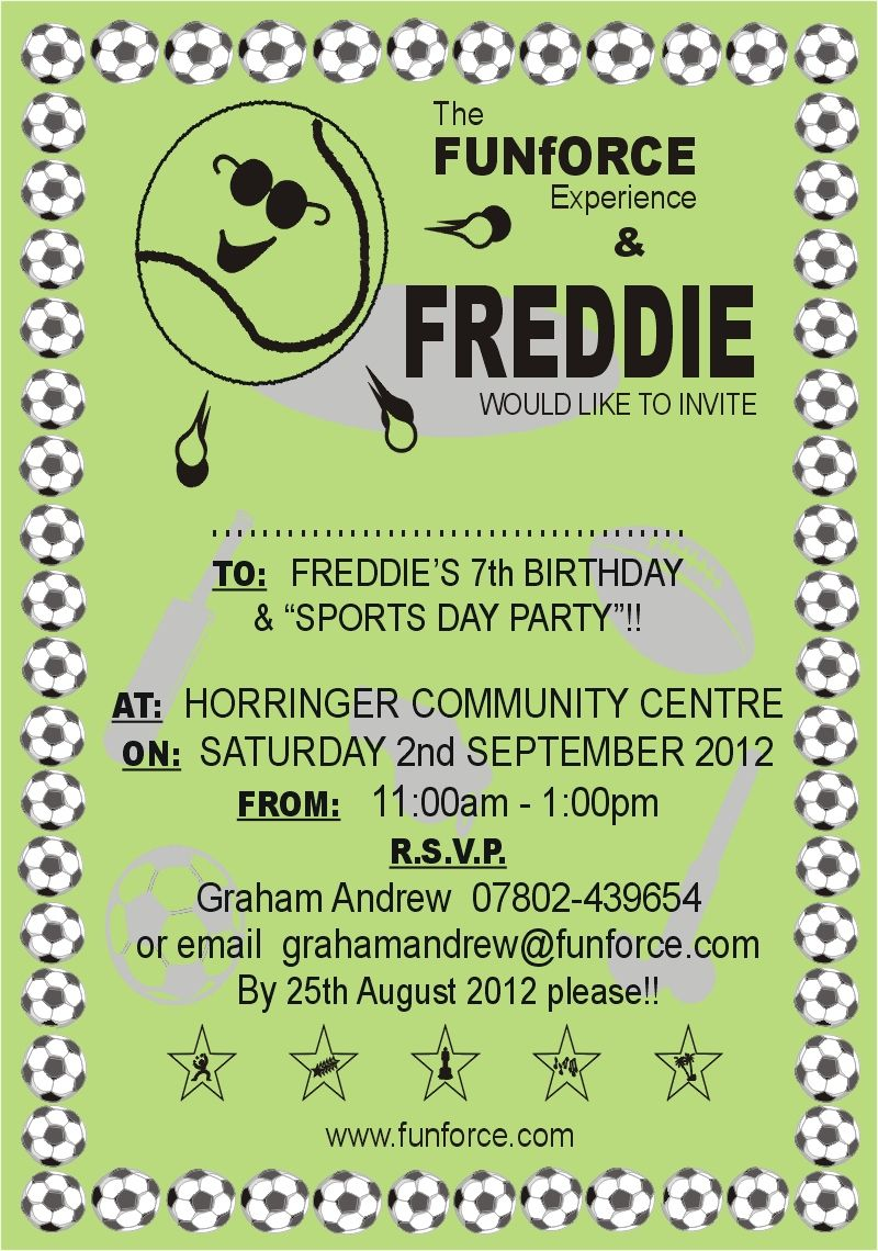 Sports Day Party Middaysportszone Sportsdaybannerideas
