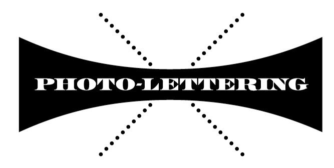 PHOTO-LETTERING