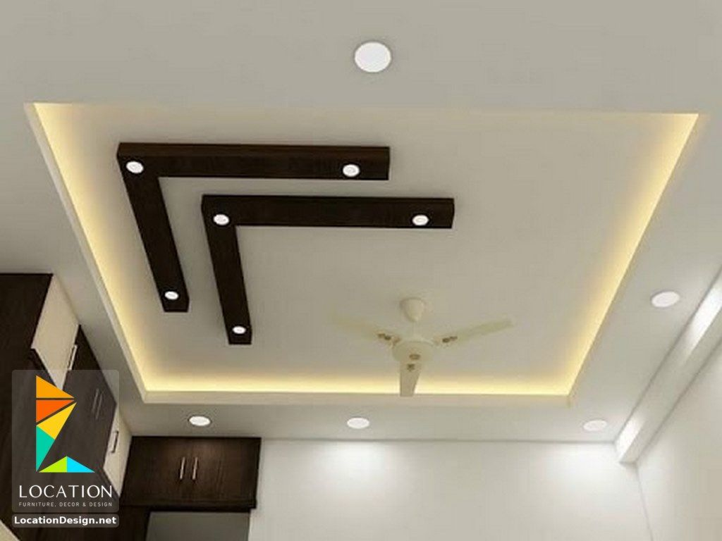 Simple pop ceiling designs for bedroom indian for Simple ceiling