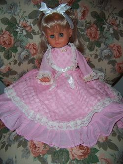 This Regal of Canada doll is almost identical to the one I had as a girl. I named her 'Audra' after Linda Evans' character on my favourite t.v. show, The Big Valley.