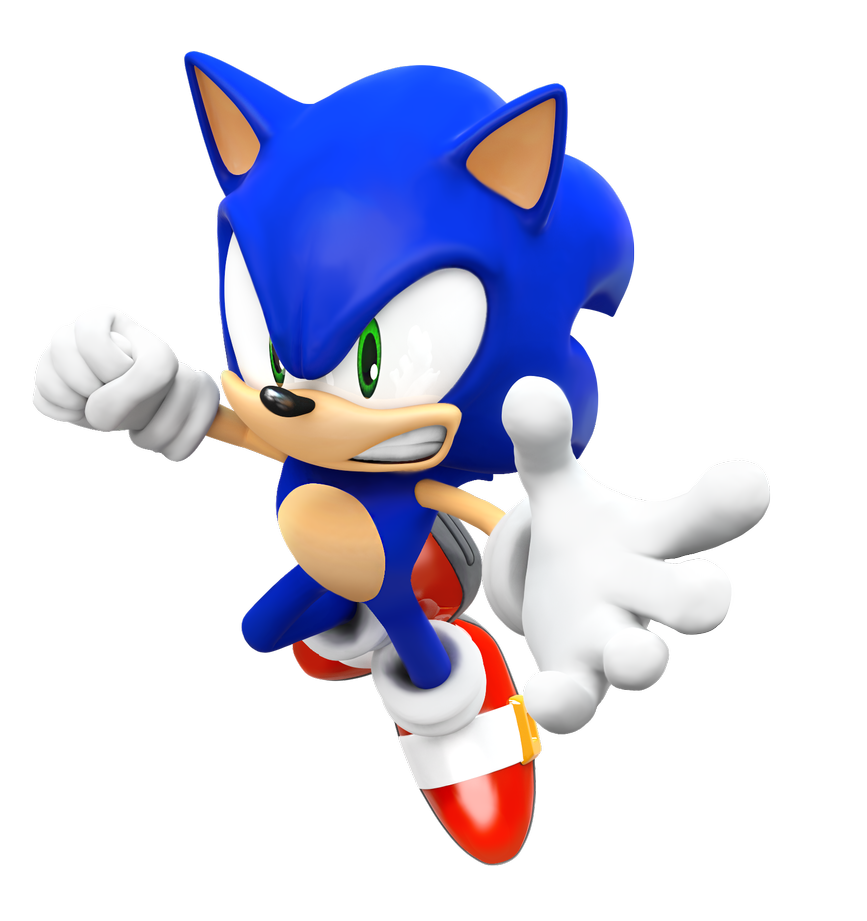 Sonic Rival 3 Pose Render By Nibroc Rock Sonic Sonic The Hedgehog Hedgehog