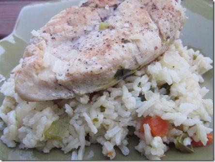 Chicken, Rice, Swiss Chard Recipe on Yummly