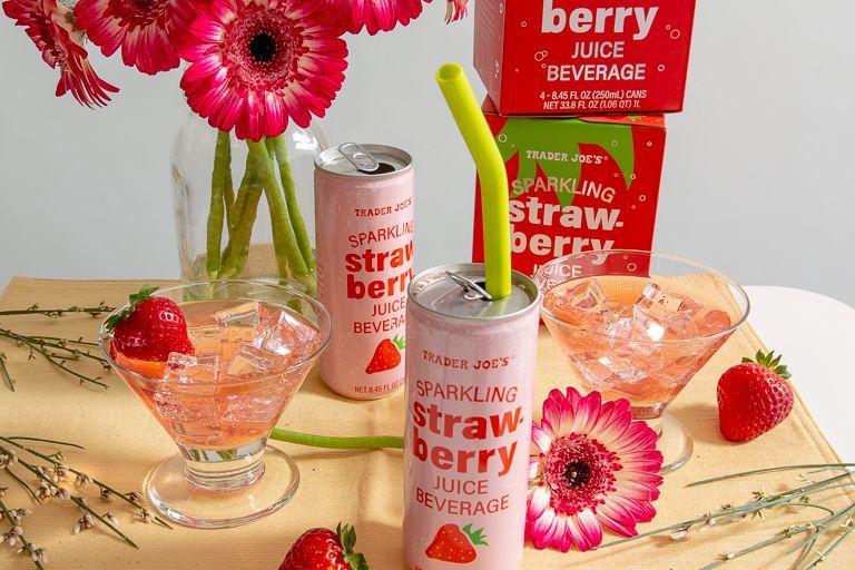 Sparkling Strawberry Juice Trader Joe's in 2020