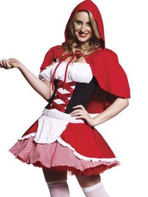 Hot Red Sizes 10 24 Plus Size Fancy Dress Fairytale Fancy
