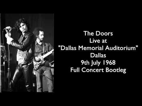 The Doors Live at  Dallas Memorial Auditorium  Dallas 1968 Full Concert Bootleg - YouTube  sc 1 st  Pinterest & The Doors Live at