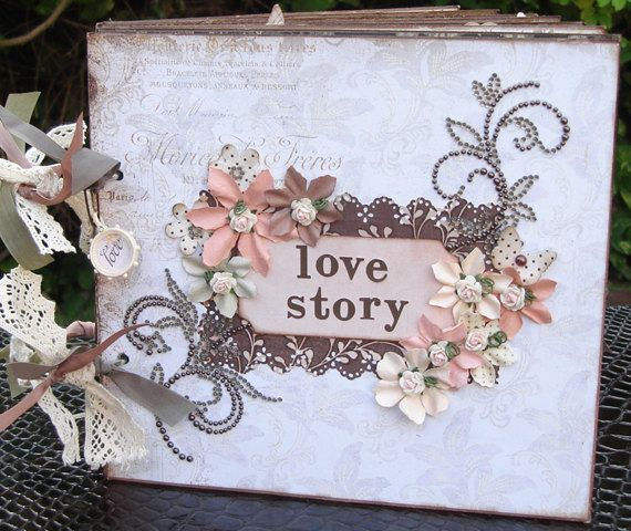 Scrapbook Album  Love Themed Srapbook album  Wedding Album  Anniversary  Album  Wedding giftScrapbook Album  Love Themed Srapbook album  Wedding Album  . Premade Wedding Scrapbook. Home Design Ideas