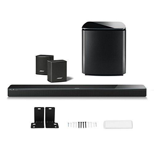 Introducing Bose Soundtouch 300 Soundbar W Wb300 Wall Bracket Wireless Acoustimass 300 Bass Mo Wireless Surround Speakers Surround Speakers Wireless Streaming