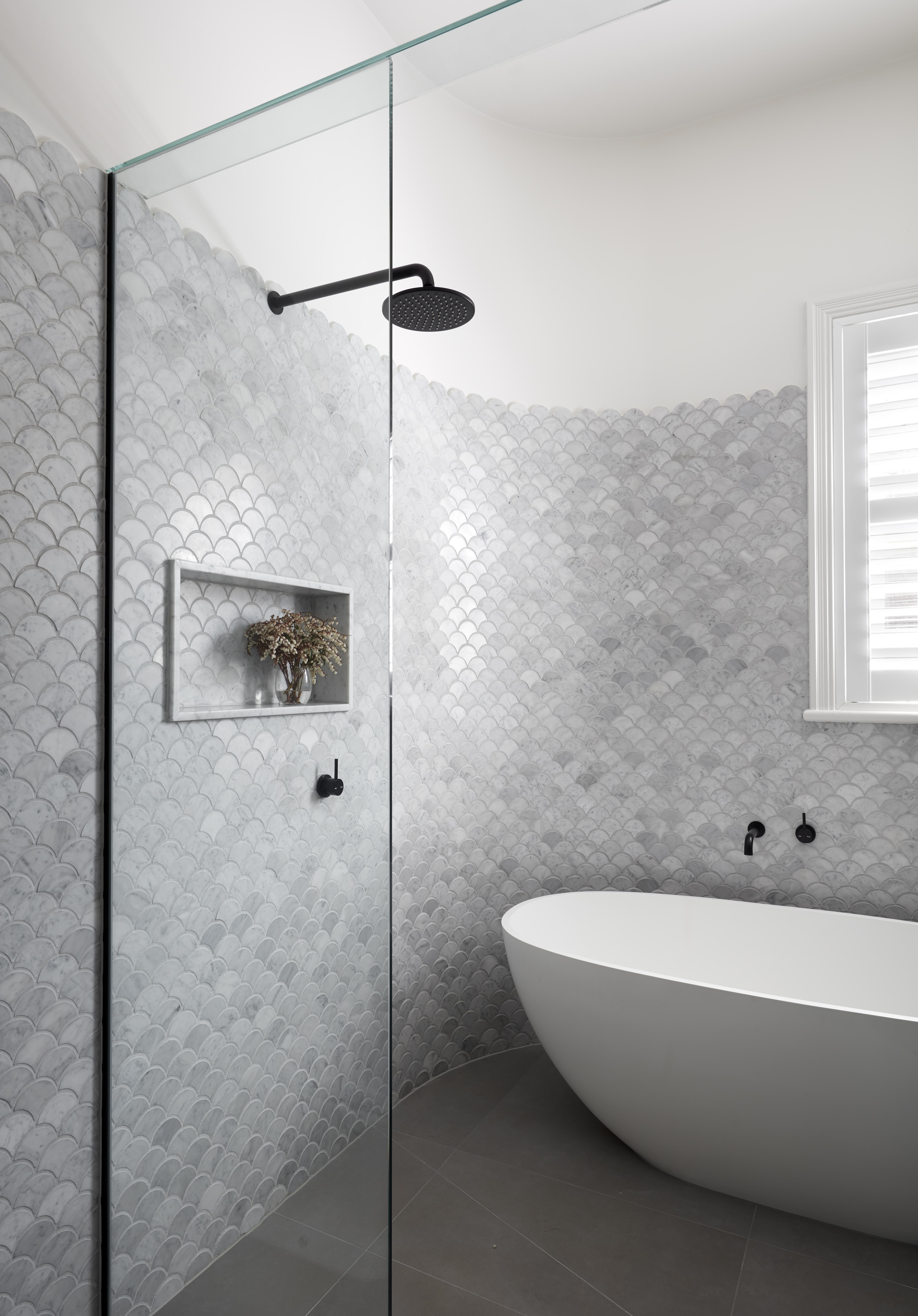 Residential Interior Project Has Modern Yet Vintage Take: The Malvern East Home By SmarterBATHROOMS+ Is Residential
