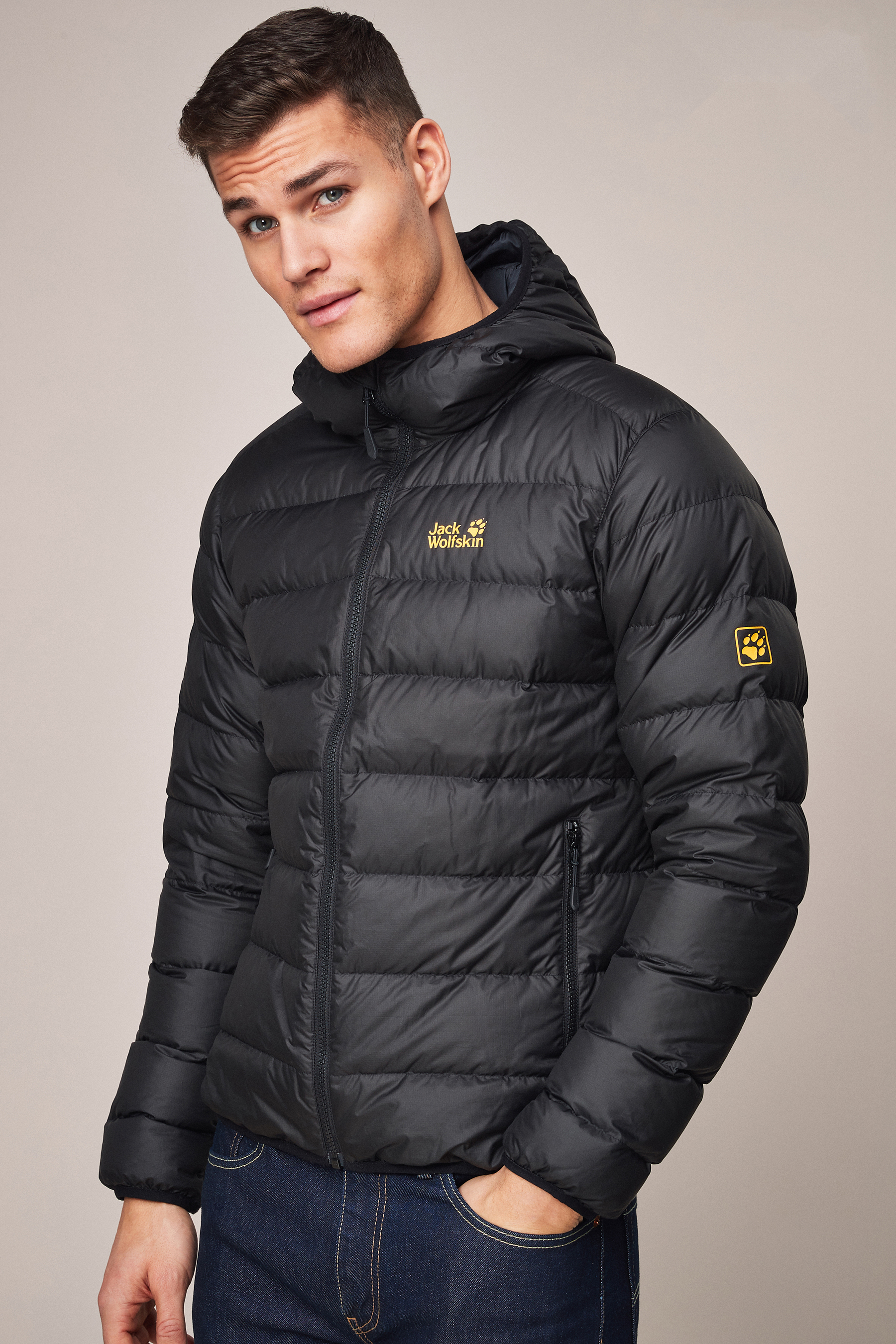 Jack Wolfskin Black Fashion for Men ShopStyle UK
