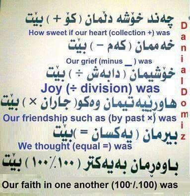English with kurdish❤❤❤
