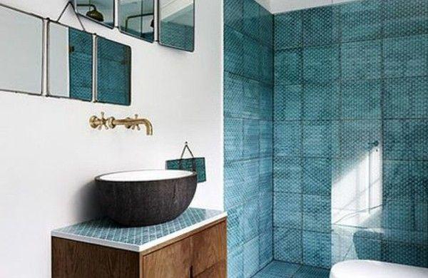 Moderne Fliesengestaltung Badezimmer Design