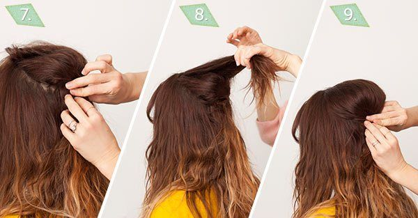 NLong Hair Styling Tutorial by ModCloth