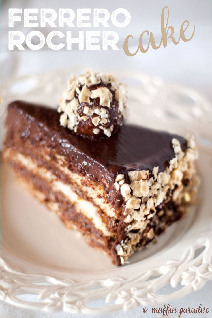The ultimate hazelnut and chocolate combo, sooo creamy and...GLUTEN FREE! How cool is that? Check out the recipe from muffinparadise.com