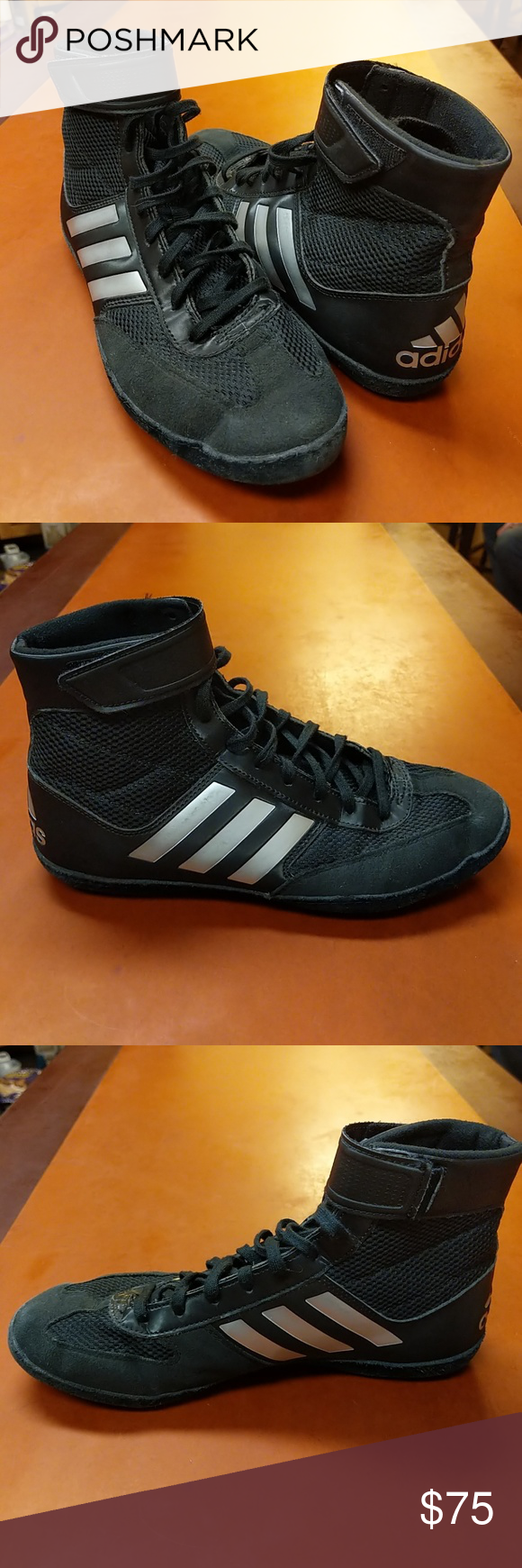 new product f85b2 a5660 Adidas Combat Speed 5 Wrestling Shoes 9 9.5 The original competition  wrestling shoe. The