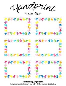 preschool name tag templates.html