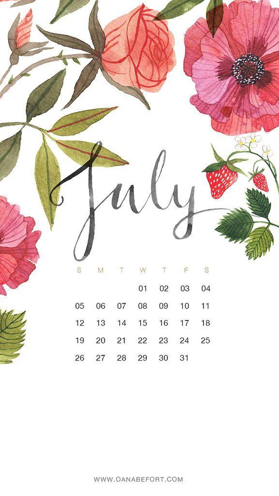 July 2015 Iphone Calendar Wallpaper Iphone Wallpaper July Calendar