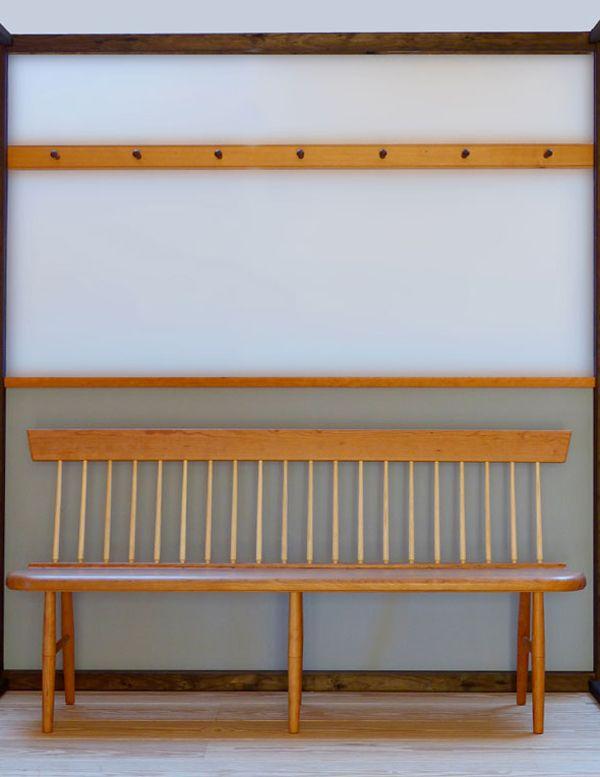 Shaker Möbel shakerbank aus kirschbaum seeland shakermöbel
