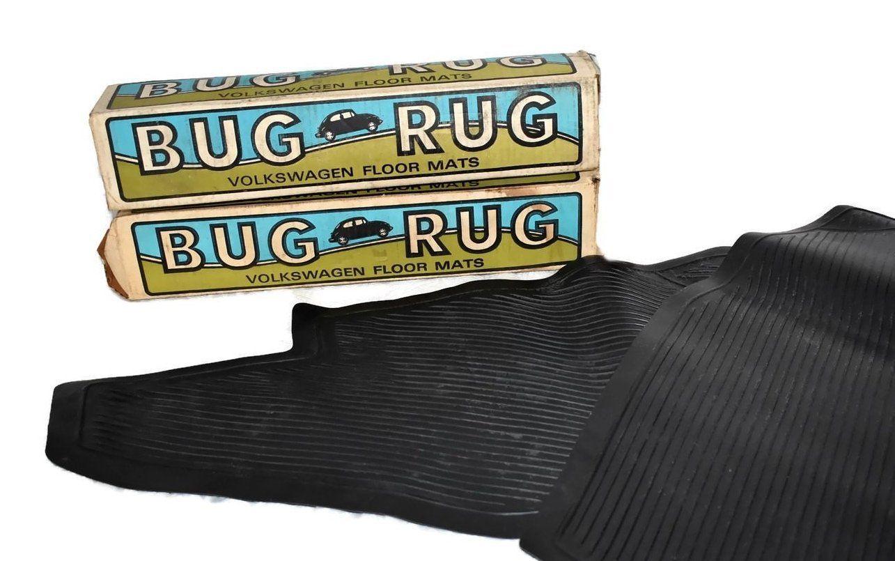 1970s VW Bug Rug Car Mats Volkswagen Beetle Floor Mats 2