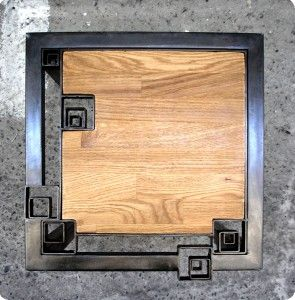 Tabouret carré
