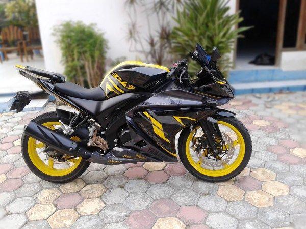 Modifikasi Motor Yamaha Vixion Lama Model R125 Motor Gambar