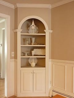 Corner Built In  Blog  Pinterest  Corner Room And Corner Shelf Alluring Dining Room Corner Hutch Cabinet Design Decoration