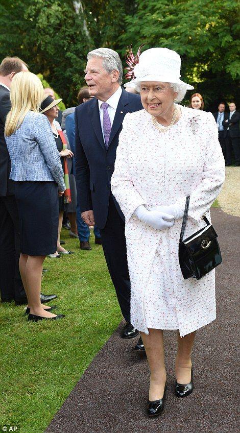The Queen meets Prince Philip's German relations in Frankfurt