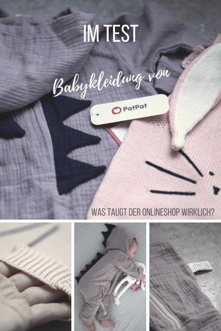 zuckersüße babykleidung von patpat - taugt das was? unsere
