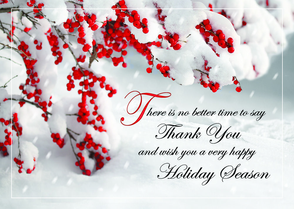 holiday business greeting cards