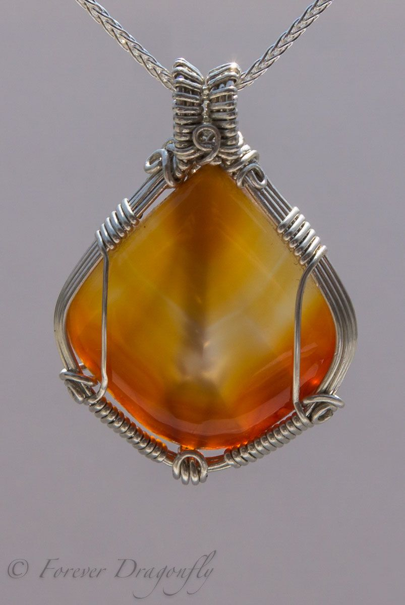 Radiating sunlight large carnelian pendant in argentium silver and large carnelian pendant in argentium silver and earring set by foreverdragonfly on etsy mozeypictures Gallery