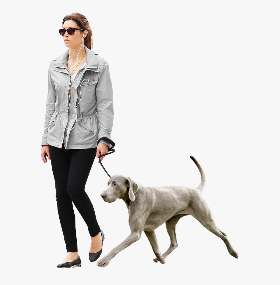 Girl Walking Dog Png Render People People Png Sketches Of People
