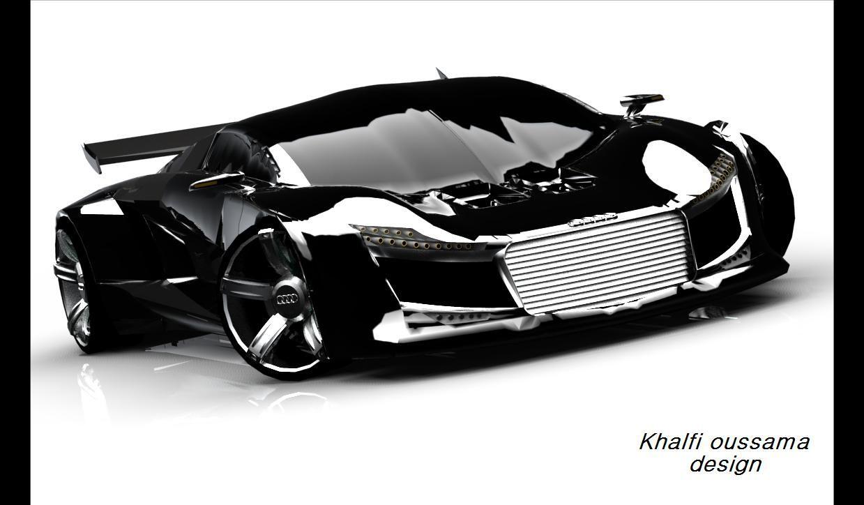Design my car - Audi R10 Khalfi Oussama Design My Audi R10 Concept