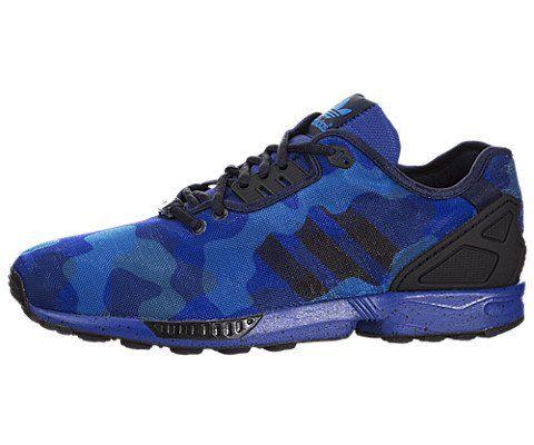 e8226e94c980 Adidas ZX Flux Women US 11 Blue Sneakers UK 10.5 EU 45.5