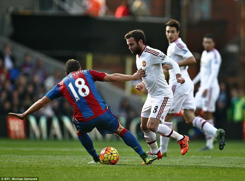 Crystal Palace 00 Manchester United Van Gaal draws a