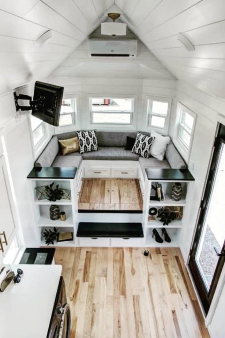 Schöne kleine Wohnkultur-Tipps -  Hier finden Sie einige schöne, winzige Tipps zur Wohngestaltung für Hausbesitzer, die einen funkt - #cabindecor #diybeautifulhomedecor #diyDiningroomhutch #diyhomedecorlighting #diyInteriordesign #Homediytips #kleine #Livingroomdecor #schone #tinyhomes #tipps #wohnkultur #WohnkulturTipps #interiordesigntips
