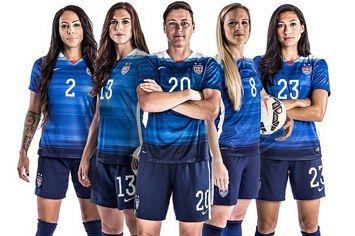 Meet The Badass Women Of The 2015 U S Soccer Team Usa Soccer Women Womens Soccer Soccer Team