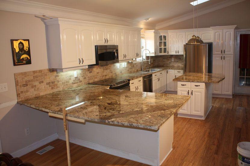 Pin on My future home on Typhoon Bordeaux Granite Backsplash Ideas  id=76130