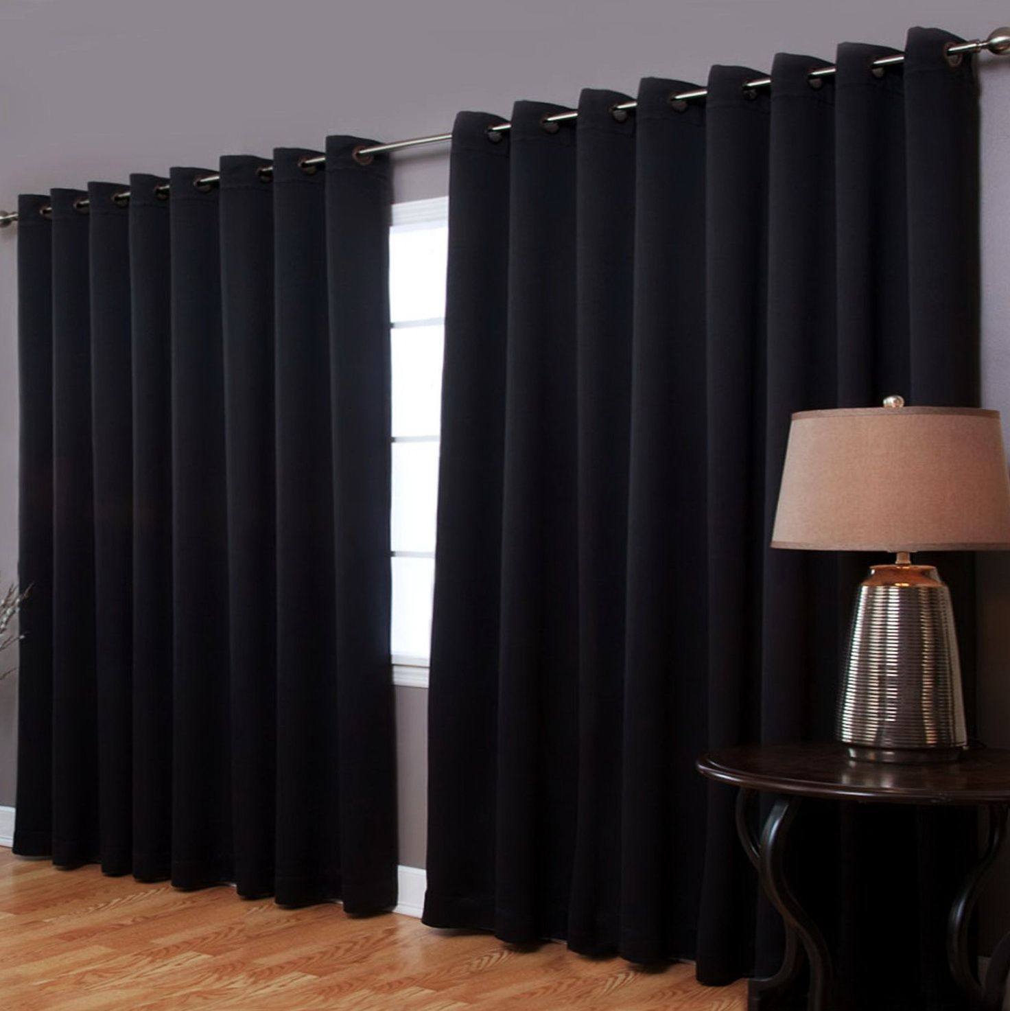 Blackout Curtains For Extra Wide Windows