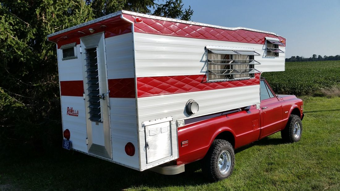 1965 Revella Pickup Camper For Sale 8500Made in Lima, OH